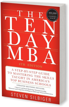 Book cover image: The Ten-Day MBA 4th Ed.: A Step-by-Step Guide to Mastering the Skills Taught In America's Top Business Schools