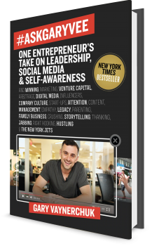 Book cover image: #AskGaryVee