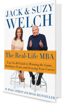 Book cover image: The Real-Life MBA: Your No-BS Guide to Winning the Game, Building a Team, and Growing Your Career   New York Times Bestseller   #1 Wall Street Journal Bestseller