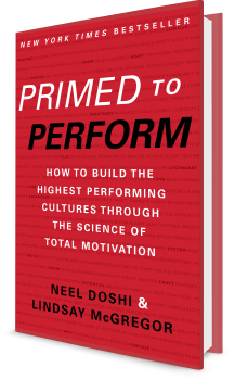 Book cover image: Primed to Perform