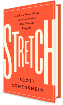 Book cover image: Stretch: Unlock the Power of Less—and Achieve More Than You Ever Imagined   Wall Street Journal Bestseller