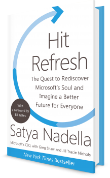 Book cover image: Hit Refresh