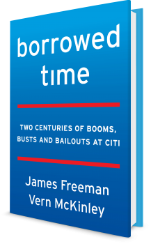 Book cover image: Borrowed Time