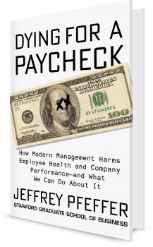 Book cover image: Dying for a Paycheck