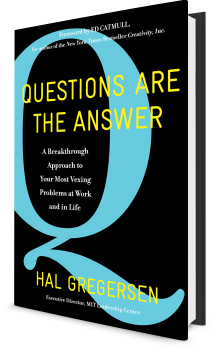 Book cover image: Questions Are the Answer