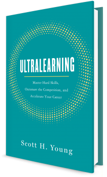 Book cover image: Ultralearning: Master Hard Skills, Outsmart the Competition, and Accelerate Your Career