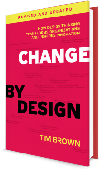 Book cover image: Change by Design, Revised and Updated