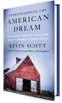 Book cover image: Reprogramming the American Dream: From Rural America to Silicon Valley—Making AI Serve Us All