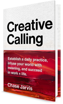 Book cover image: Creative Calling: Establish a Daily Practice, Infuse Your World with Meaning, and Find Success in Work + Life
