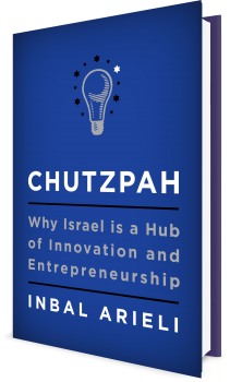 Book cover image: Chutzpah: Why Israel Is a Hub of Innovation and Entrepreneurship
