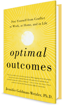 Book cover image: Optimal Outcomes: Free Yourself from Conflict at Work, at Home, and in Life