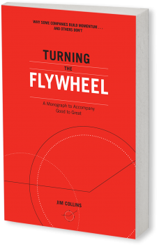 Book cover image: Turning the Flywheel