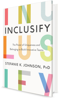 Book cover image: Inclusify: The Power of Uniqueness and Belonging to Build Innovative Teams