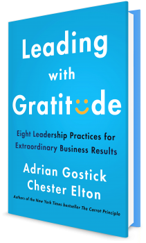 Book cover image: Leading with Gratitude: Eight Leadership Practices for Extraordinary Business Results