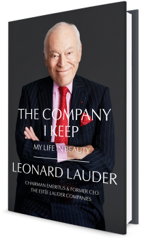 Book cover image: The Company I Keep: My Life in Beauty
